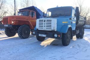 Учебные грузовые автомобили ЗИЛ и УРАЛ