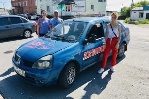 Курсантки Анастасия и Дарья! Первые практические вождения!